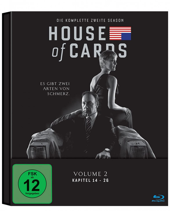 House of Cards - Season 2 [Blu-ray]