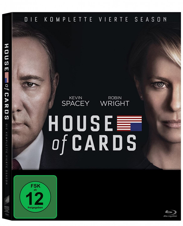 House of Cards - Season 4 [Blu-ray]