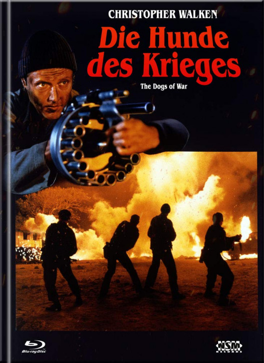 Die Hunde des Krieges (The Dogs of War) - Limited Collector's Edition - Cover A [Blu-ray+DVD]