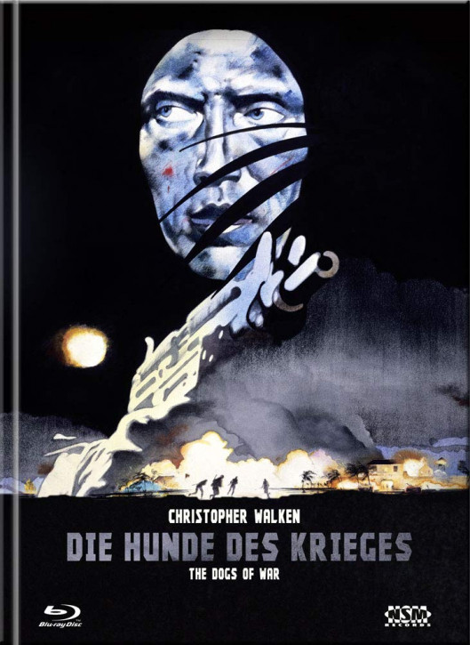 Die Hunde des Krieges (The Dogs of War) - Limited Collector's Edition - Cover B [Blu-ray+DVD]