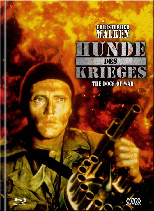 Die Hunde des Krieges (The Dogs of War) - Limited Collector's Edition - Cover C [Blu-ray+DVD]