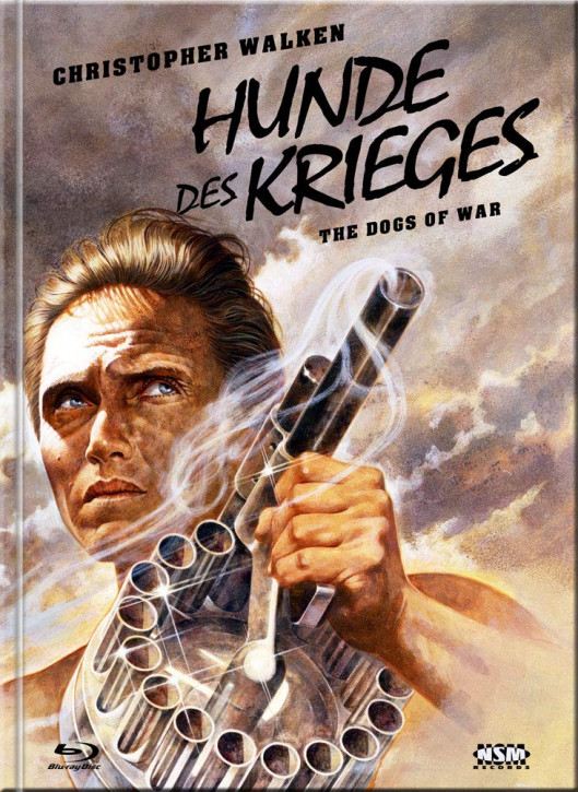 Die Hunde des Krieges (The Dogs of War) - Limited Collector's Edition - Cover E [Blu-ray+DVD]