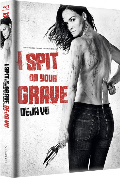 I Spit on your Grave Deja vu - Limited Mediabook Edition - Cover B [Blu-ray+DVD]