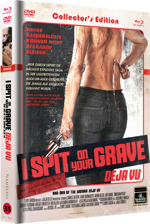 I Spit on your Grave Deja vu - Limited Mediabook Edition - Cover C [Blu-ray+DVD]