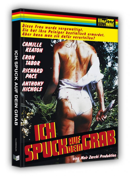 I spit on Your Grave (1978) - Limited Collectors Edition- Cover A [Blu-ray+DVD]