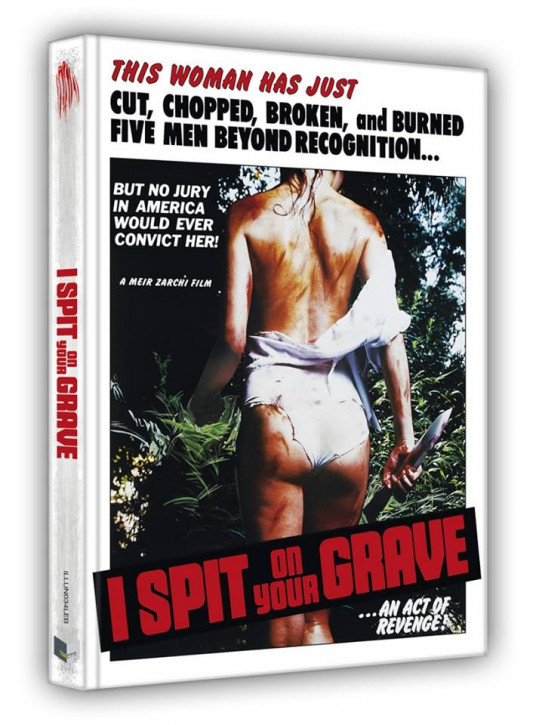 I spit on Your Grave (1978) - Limited Collectors Edition- Cover B [Blu-ray+DVD]
