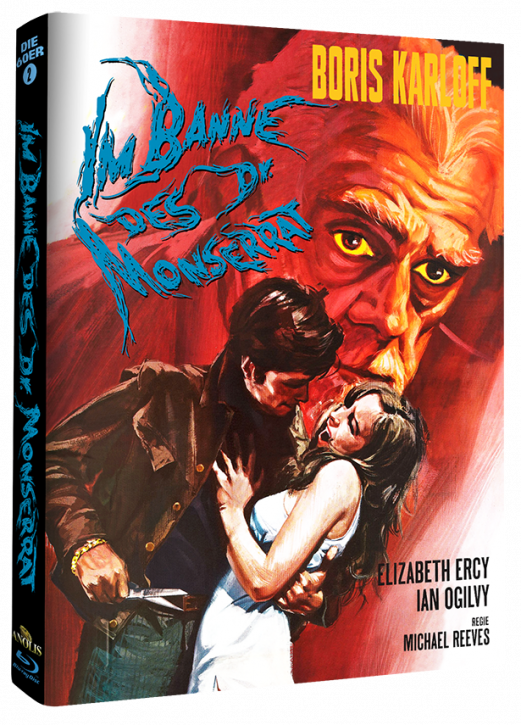 Im Banne des Dr. Monserrat - Mediabook Cover A [Blu-ray]