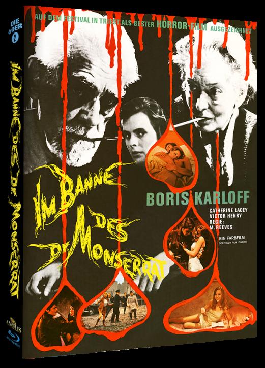 Im Banne des Dr. Monserrat - Mediabook Cover B [Blu-ray]