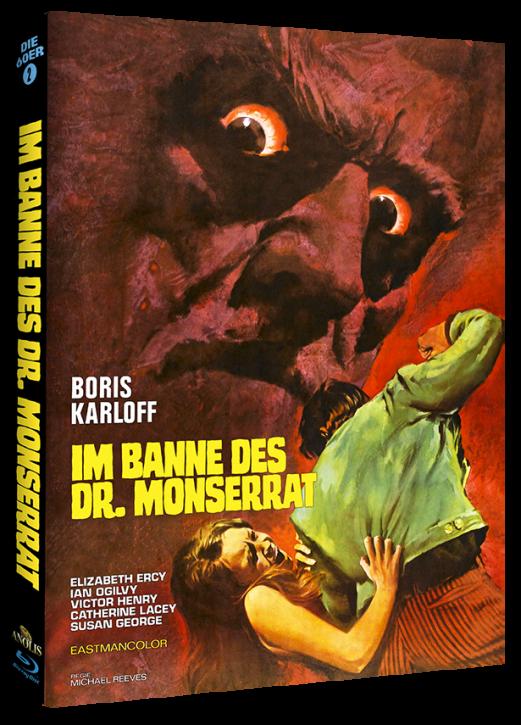 Im Banne des Dr. Monserrat - Mediabook Cover C [Blu-ray]