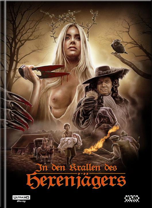 In den Krallen des Hexenjägers - Mediabook - Cover I [4K UHD+Blu-Ray]