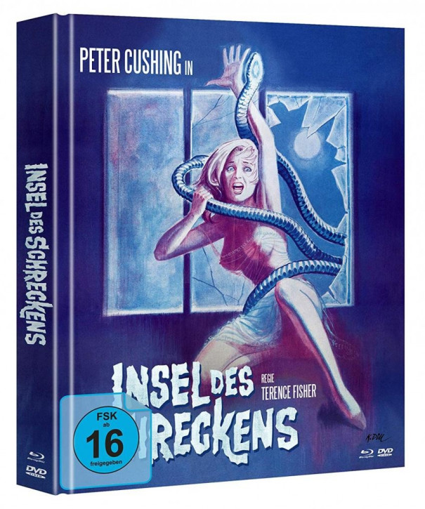 Insel des Schreckens  - Limited Mediabook Edition - Cover B [Blu-ray+DVD]