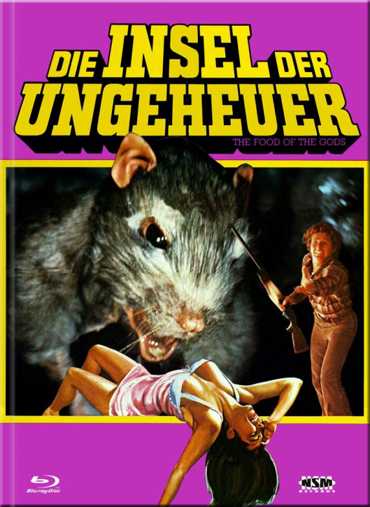 Die Insel der Ungeheuer - Limited Collector's Edition - Cover B [Blu-ray+DVD]