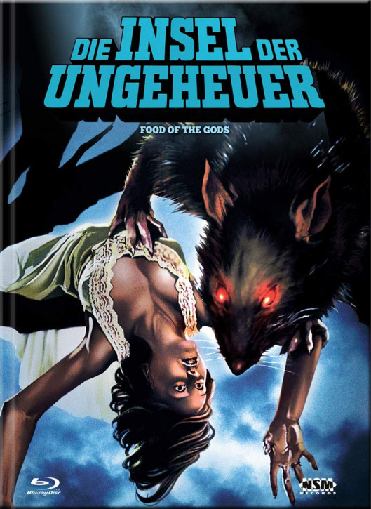 Die Insel der Ungeheuer - Limited Collector's Edition - Cover C [Blu-ray+DVD]