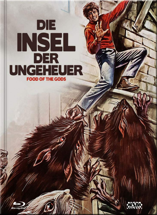 Die Insel der Ungeheuer - Limited Collector's Edition - Cover E [Blu-ray+DVD]