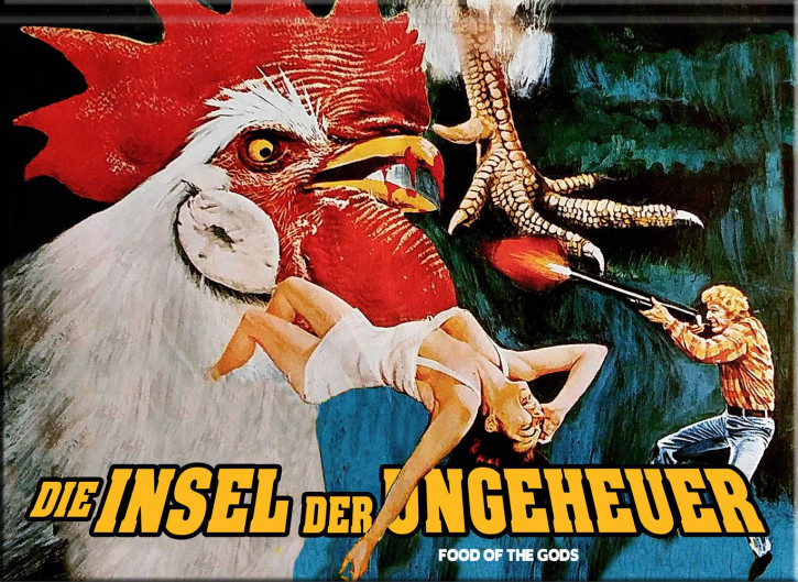 Die Insel der Ungeheuer - Limited Collector's Edition - Cover G [Blu-ray+DVD]