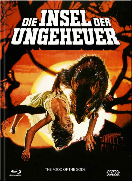 Die Insel der Ungeheuer - Limited Collector's Edition - Cover A [Blu-ray+DVD]