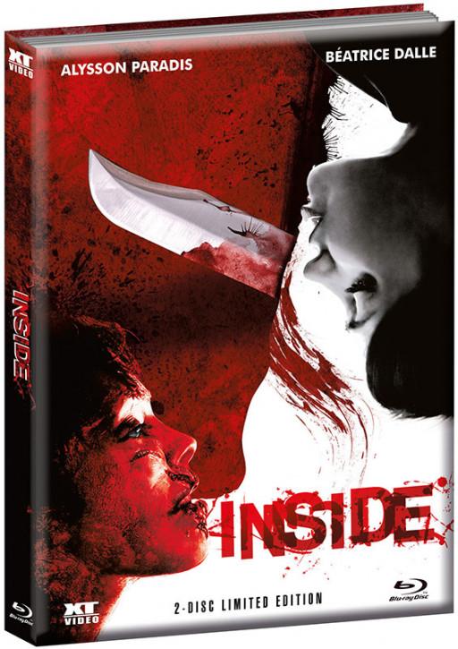 Inside - Limited wattiertes Mediabook - Cover B [Blu-ray+DVD]