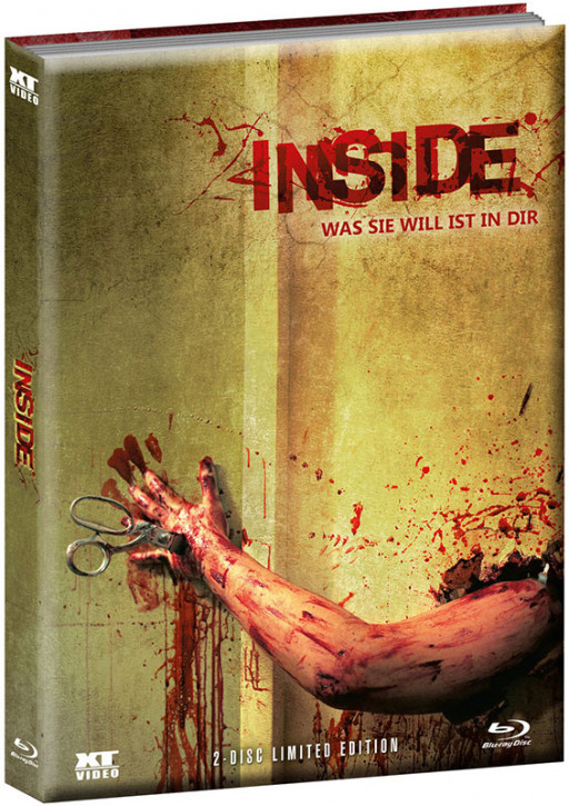Inside - Limited wattiertes Mediabook - Cover A [Blu-ray+DVD]