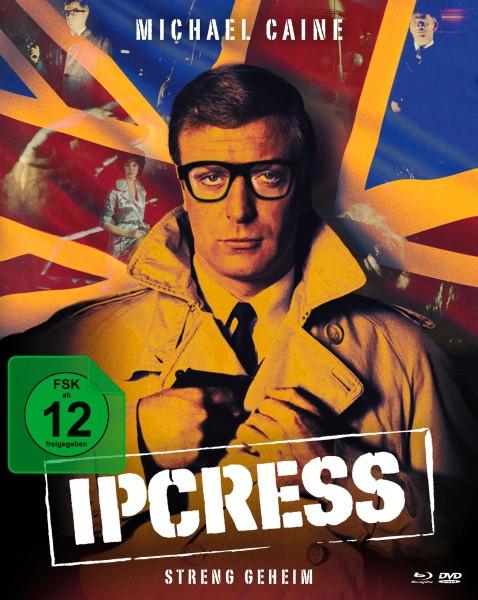 Ipcress - Streng geheim - Limited Mediabook [Blu-ray+DVD]