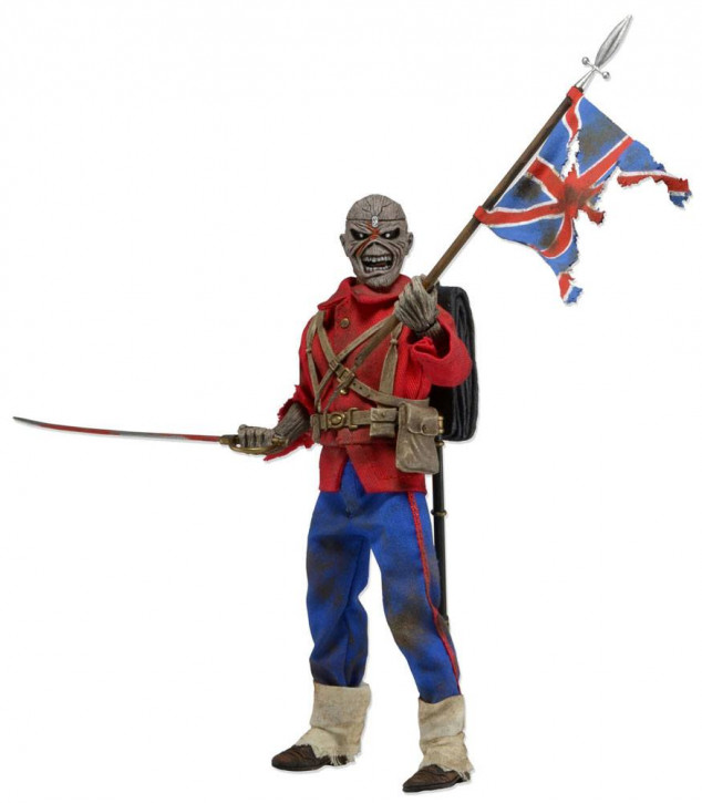 Iron Maiden - Retro Actionfigur - Trooper Eddie