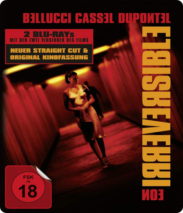 Irreversible (Kinofassung & Straight Cut) - Limited Steelbook [Blu-ray]