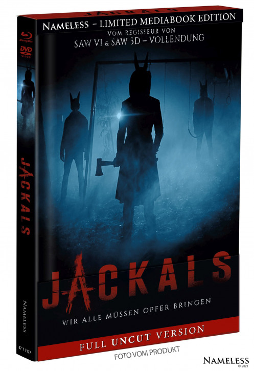 Jackals - Limited Mediabook - Cover A [Blu-ray+DVD]