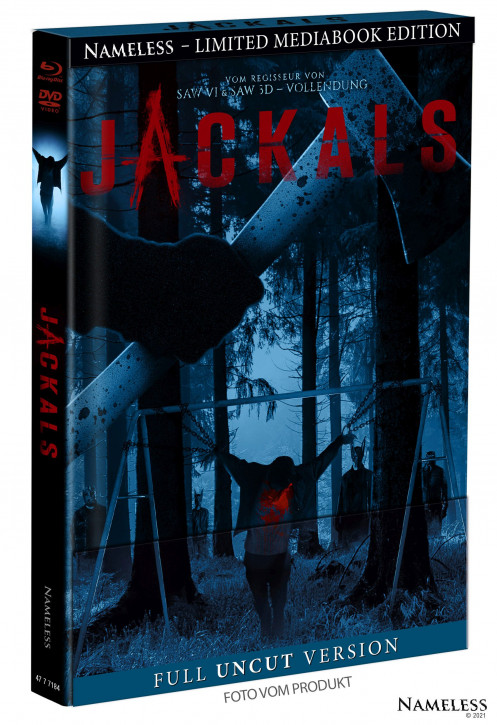 Jackals - Limited Mediabook - Cover B [Blu-ray+DVD]