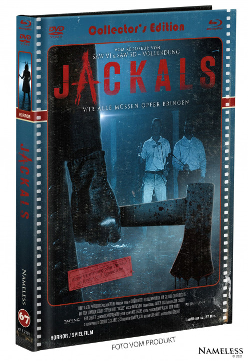 Jackals - Limited Mediabook - Cover C [Blu-ray+DVD]