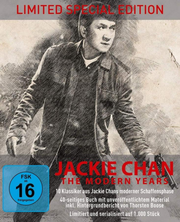 Jackie Chan - The Modern Years - Limited Collectors Edtion [Blu-ray]