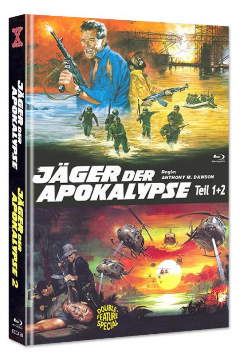 Jäger der Apokalypse 1+2 - Eurocult Collection #50 - Mediabook [Blu-ray+DVD]