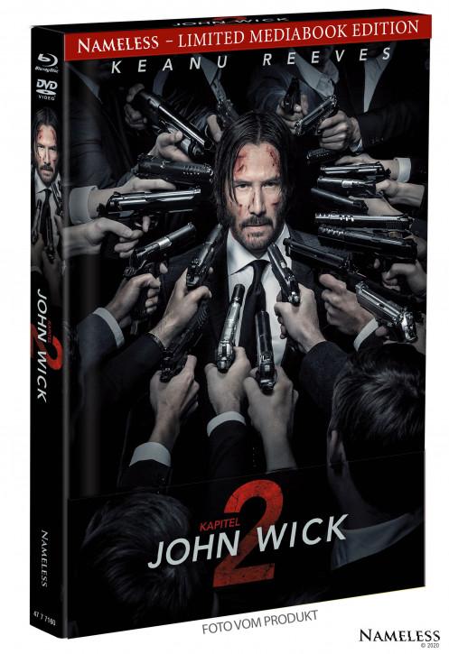 John Wick 2 - Limited Mediabook - Cover A [Blu-ray+DVD]
