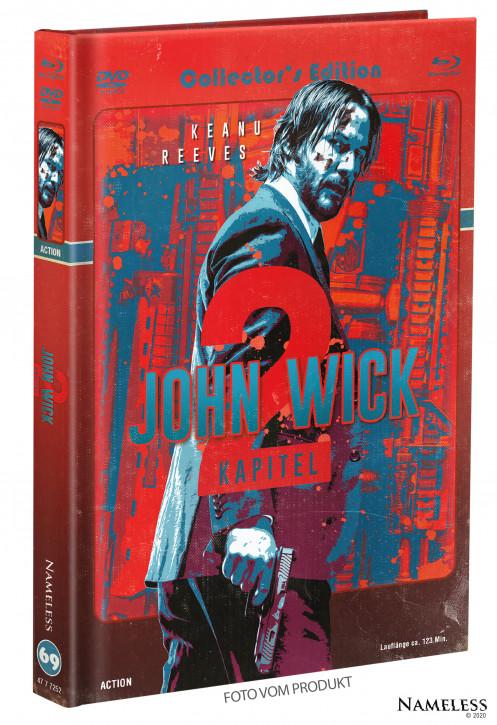 John Wick 2 - Limited Mediabook - Cover C [Blu-ray+DVD]