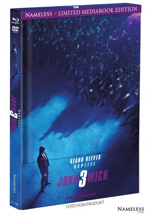 John Wick 3 - Limited Mediabook - Cover A [Blu-ray+DVD]