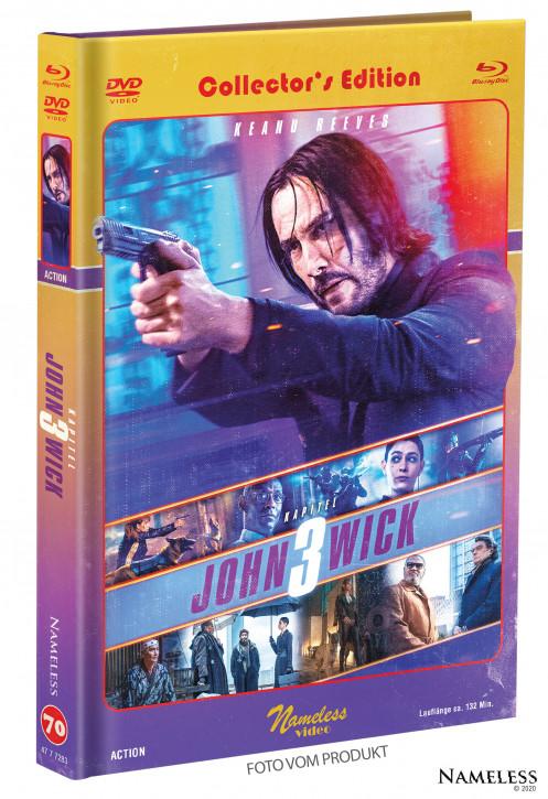 John Wick 3 - Limited Mediabook - Cover C [Blu-ray+DVD]