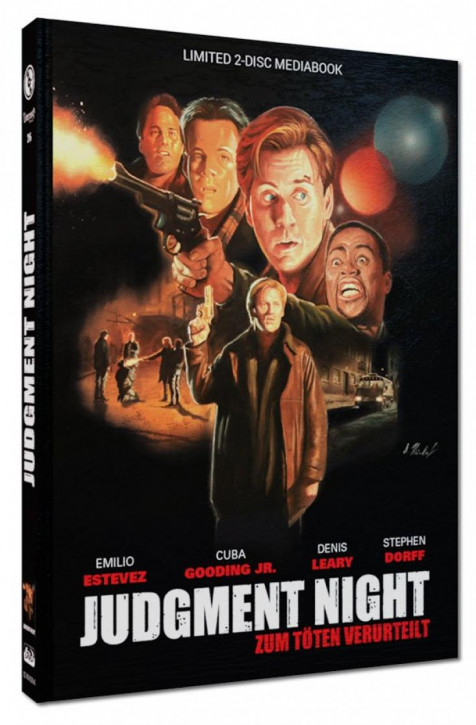 Judgment Night - Limited Mediabook Edition - Cover A [Blu-ray+DVD]