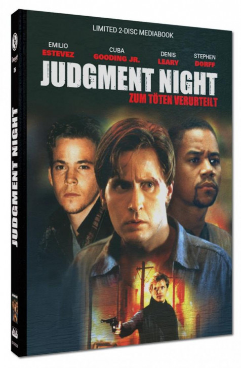 Judgment Night - Limited Mediabook Edition - Cover B [Blu-ray+DVD]
