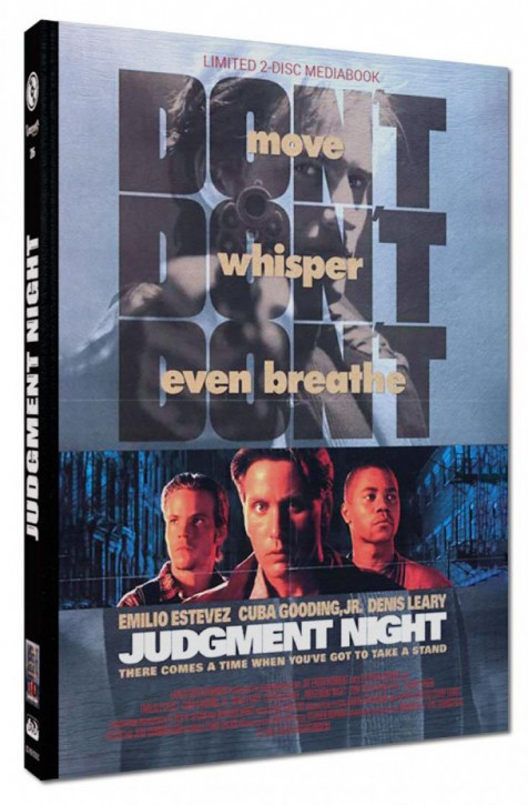 Judgment Night - Limited Mediabook Edition - Cover C [Blu-ray+DVD]