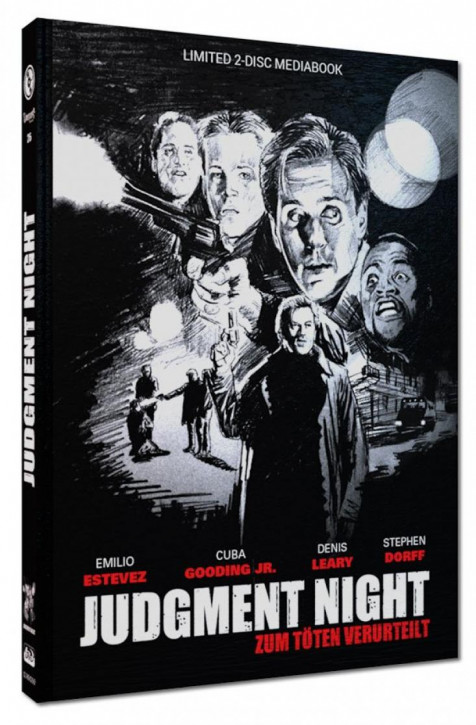 Judgment Night - Limited Mediabook Edition - Cover D [Blu-ray+DVD]