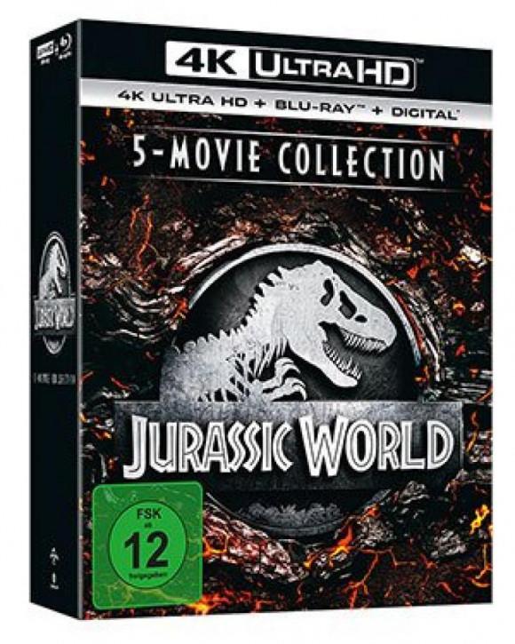 Jurassic World - 5-Movie Collection [4K UHD+Blu-ray]