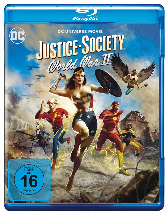 Justice Society: World War II [Blu-ray]
