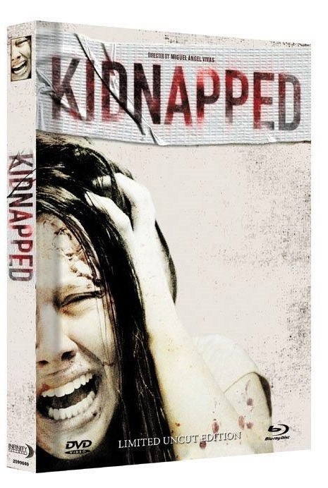 Kidnapped - Limited Mediabook Edition - Cover A [Blu-ray+DVD]