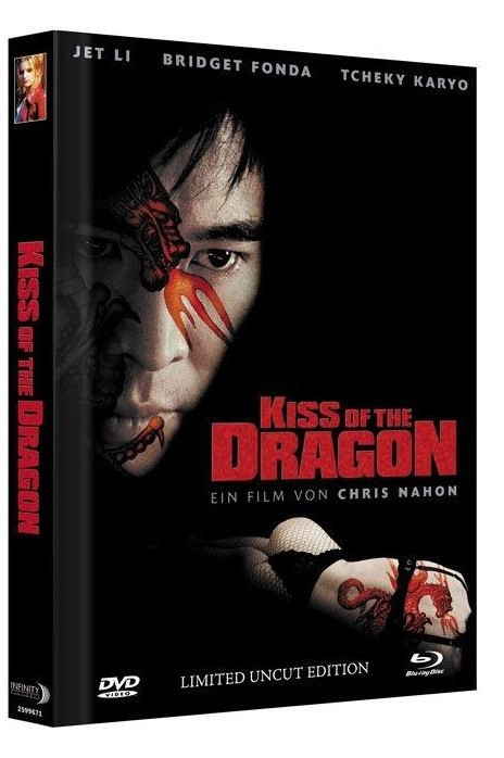 Kiss of the Dragon - Limited Mediabook Edition - Cover A [Blu-ray+DVD]