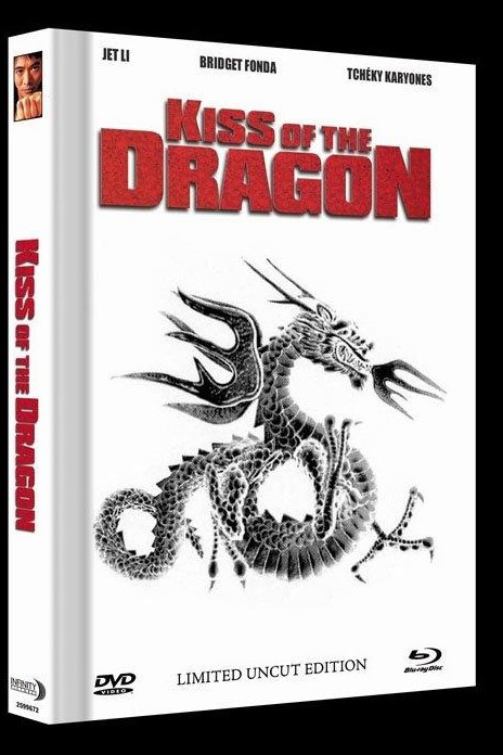 Kiss of the Dragon - Limited Mediabook Edition - Cover B [Blu-ray+DVD]