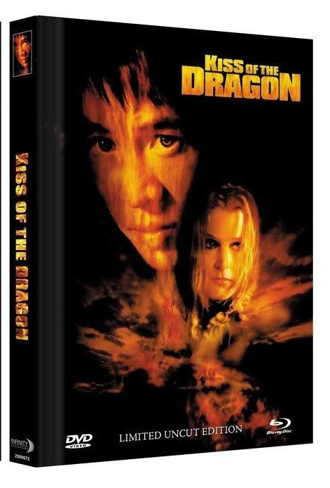 Kiss of the Dragon - Limited Mediabook Edition - Cover C [Blu-ray+DVD]
