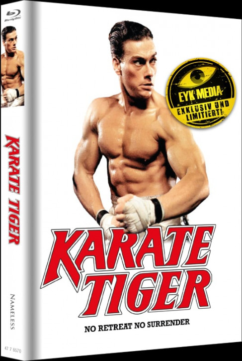 Karate Tiger - Limited Mediabook Edition - Cover F [Blu-ray+DVD]