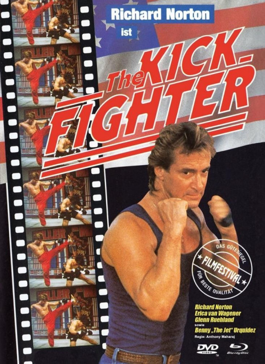 The Kick Fighter - Limited Mediabook - Cover A [Blu-ray+DVD]