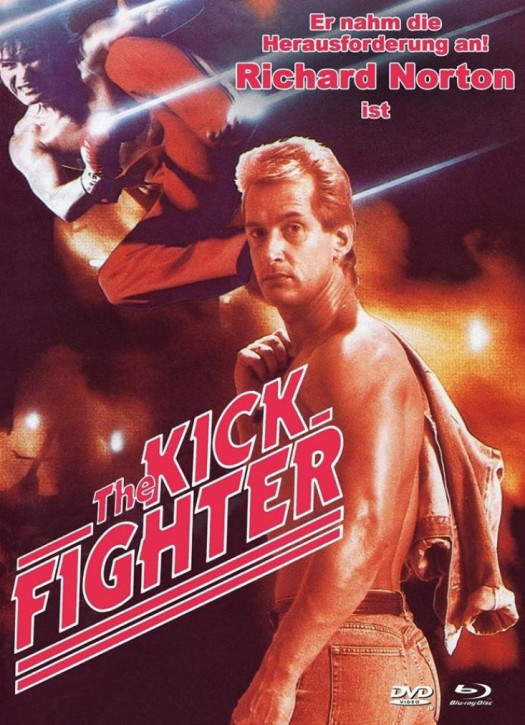 The Kick Fighter - Limited Mediabook - Cover B [Blu-ray+DVD]