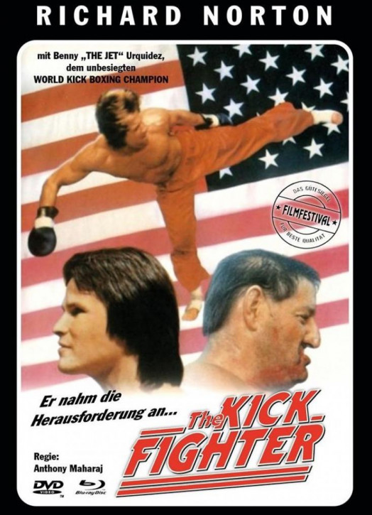 The Kick Fighter - Limited Mediabook - Cover C [Blu-ray+DVD]