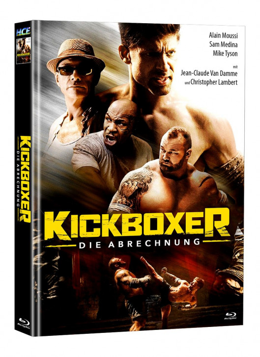 Kickboxer - Die Abrechnung - Mediabook [Blu-ray]