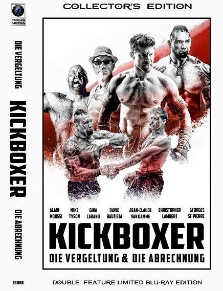 Kickboxer - Die Vergeltung & Die Abrechnung - Große Hartbox - Cover A [Blu-ray]